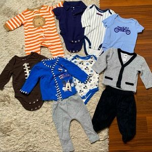 Baby/infant clothing lot size 0-3 months